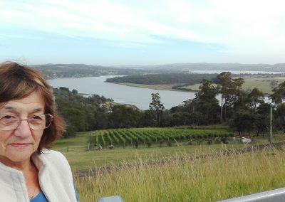 Overlooking Tamar Valley